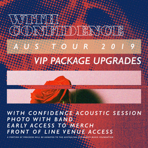 19.10.19 - With Confidence VIP Upgrade - Melbourne, VIC [18+]