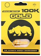 Genuine 100K Gold Rhino Special Edition Male Enhancement Sexual Performance Enhancer