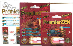 Genuine PremierZEN Extreme 3000 Male Enhancement Sexual Performance Enhancer