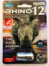Genuine Rhino 12 Premium 15000 Male Enhancement Sexual Performance Enhancer
