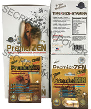 Genuine PremierZEN Gold 4000 Male Enhancement Sexual Performance Enhancer