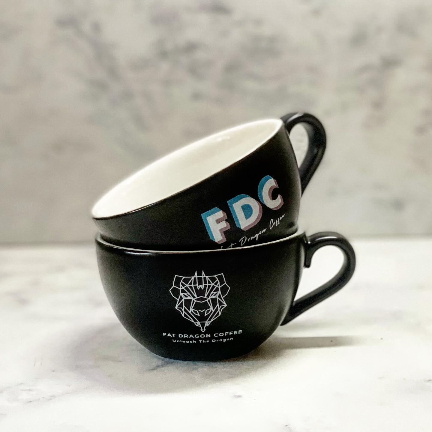 Fat Dragon Coffee 6oz Cup Duo Set