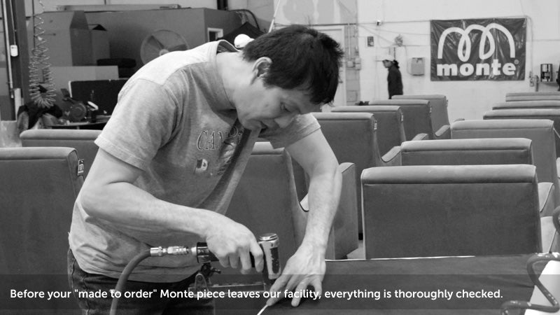 Monte Design high skilled woodworkers