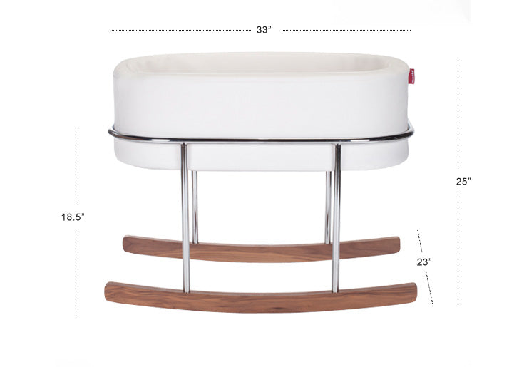 Rockwell bassinet - modern rocking bassinet dimensions- Style and Quality - Portable Bassinet