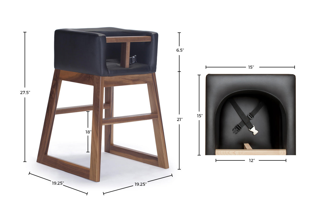 tavo high chair – Restaurant Style Modern High Chair Dimensions