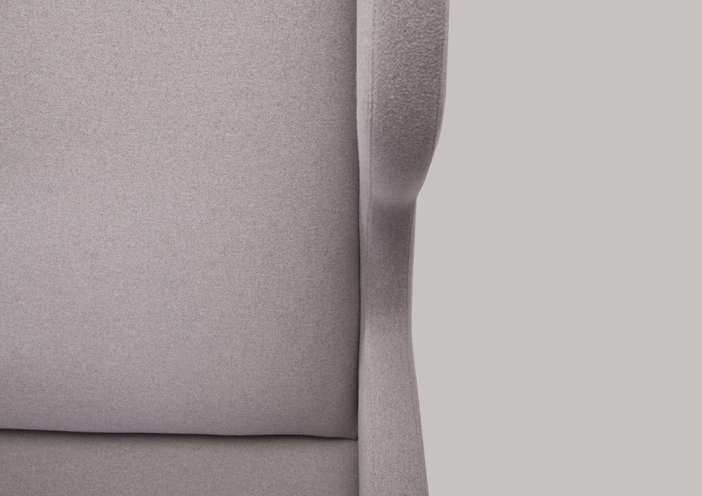 Modern Upholstered Free Bird Lounge Chair Detail