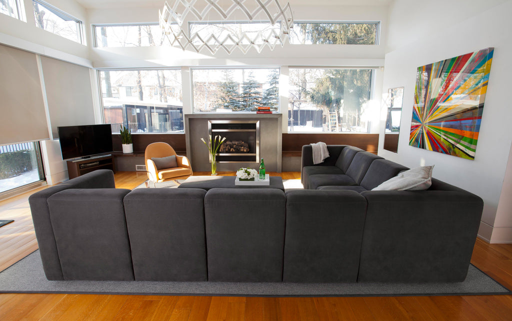 Modern Upholstered The Bruce Sectional