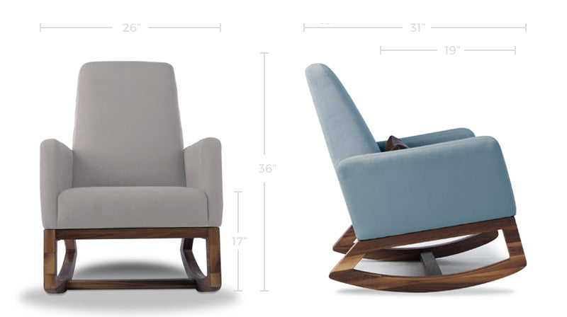 Nursery Rocking Chair Dimensions