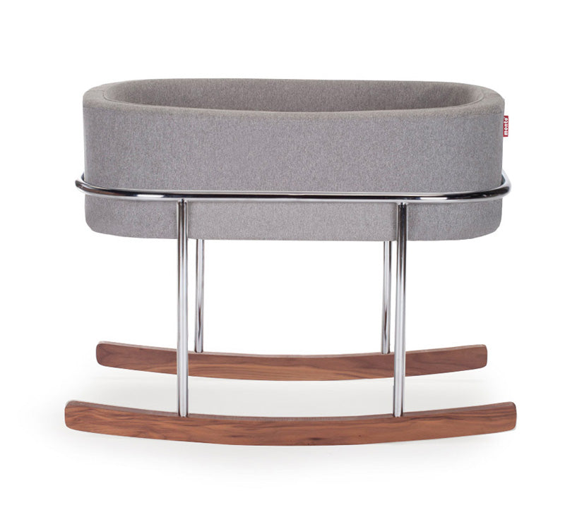 Rockwell Rocking Bassinet - Modern Nursery Rocking Bassinet
