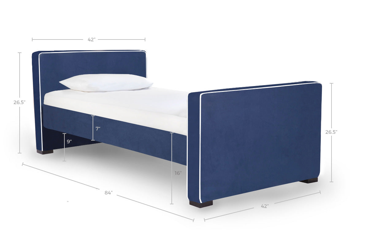 Modern Twin Daybed Dimensions