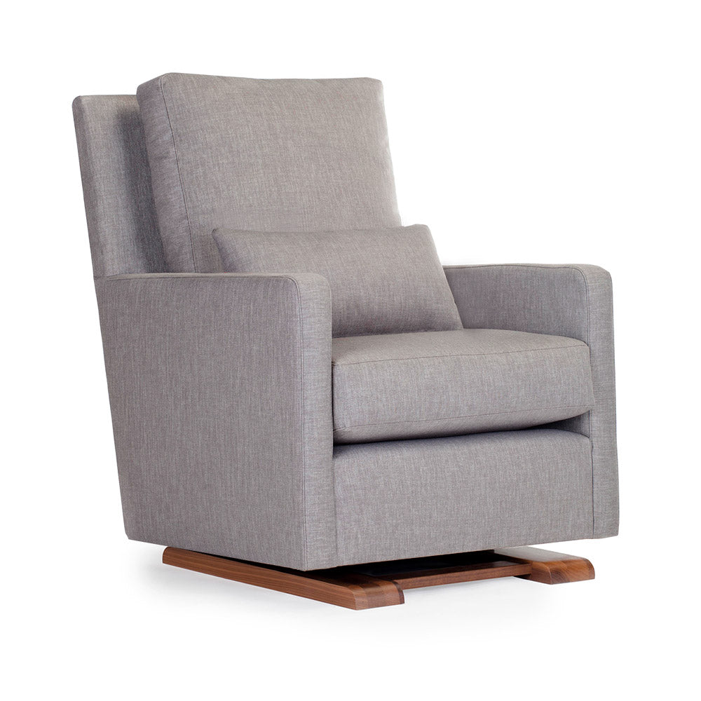 Quick Ship Como Glider - Modern Nursery Glider Chair