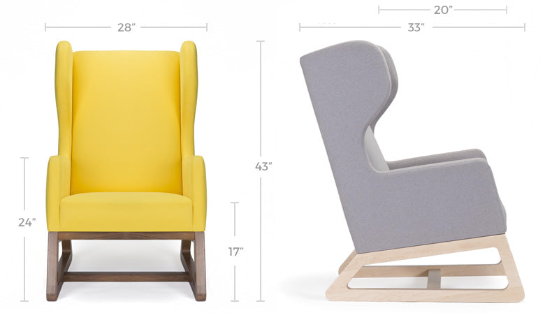 Free Bird Chair Dimensions