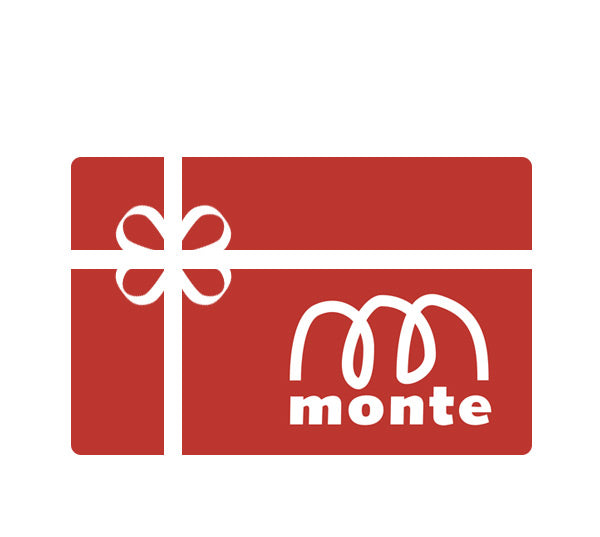 Give a Gift of Monte - Buy Monte Gift Cards