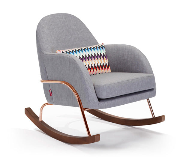 Buy Jackie Nursery Rocker - Ultra Luxurious Nursery Gliders and Rockers by Monte Design