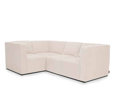 THE BRUCE SECTIONAL, 3-SEAT + CORNER