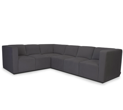 THE BRUCE SECTIONAL, 5-SEAT + CORNER