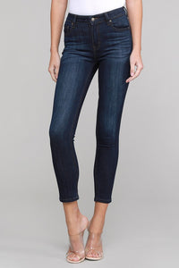 Clara High Rise Skinny - Rouge Dark