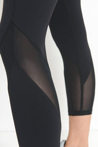 Training Day Highwaist Capri Leggings