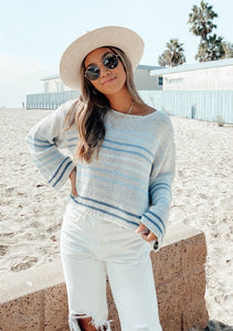 Hayden Sweater - Navy Combo