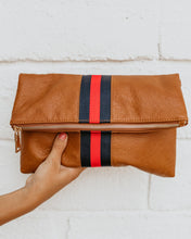 Ivy League Fold Over Clutch
