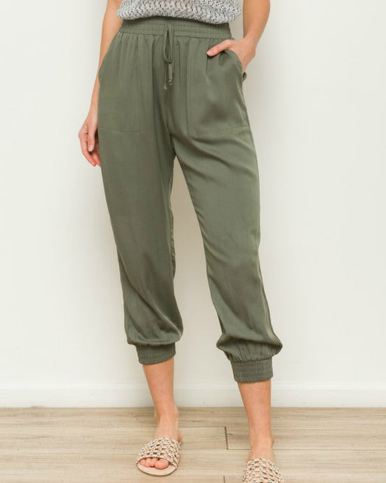 You And Me Joggers - Olive