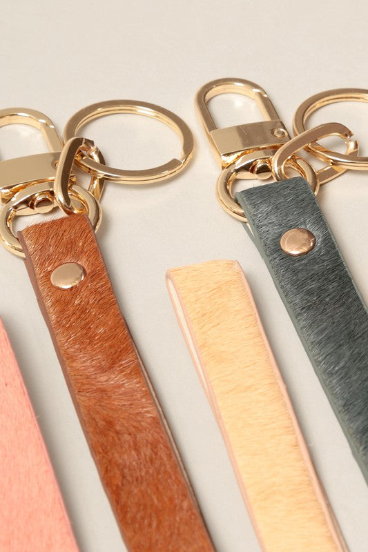 Leather Key Chain Loop