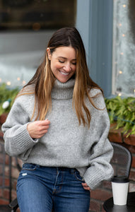 Silver Firs Chunky Turtleneck