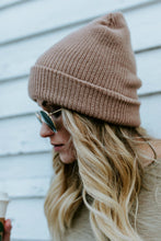 Snow Bunny Beanie - Light Brown