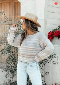 Hayden Sweater - Gray Combo