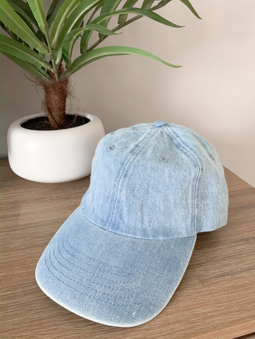 On Deck Baseball Cap - Chambray