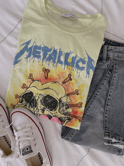Metallica Oversized Vintage Wash Tee