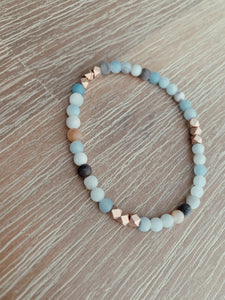 Starlight Beaded Amazonite Bracelet - 1