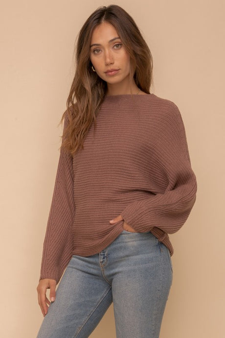 Thatcher Sweater - Mulberry