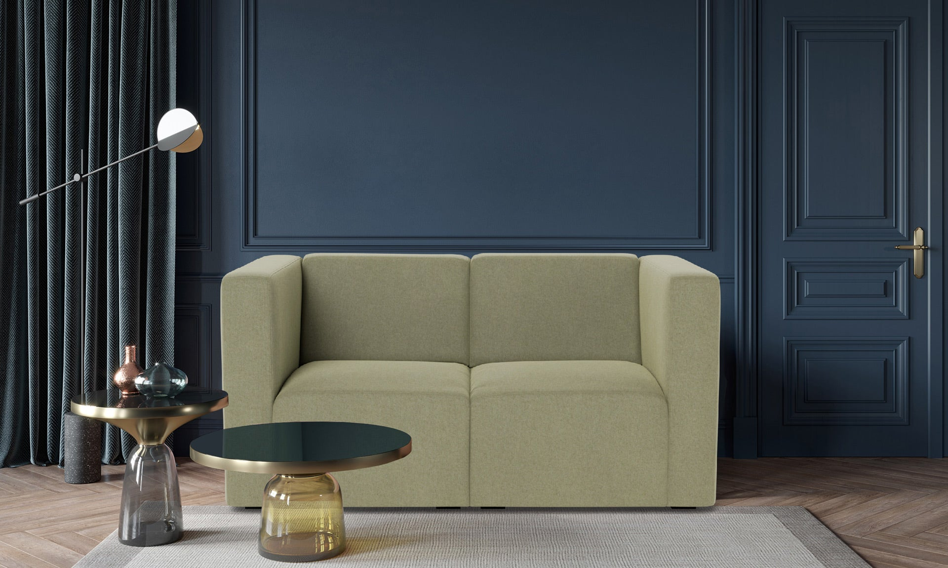 The Bruce 2-seater Sofa Couch