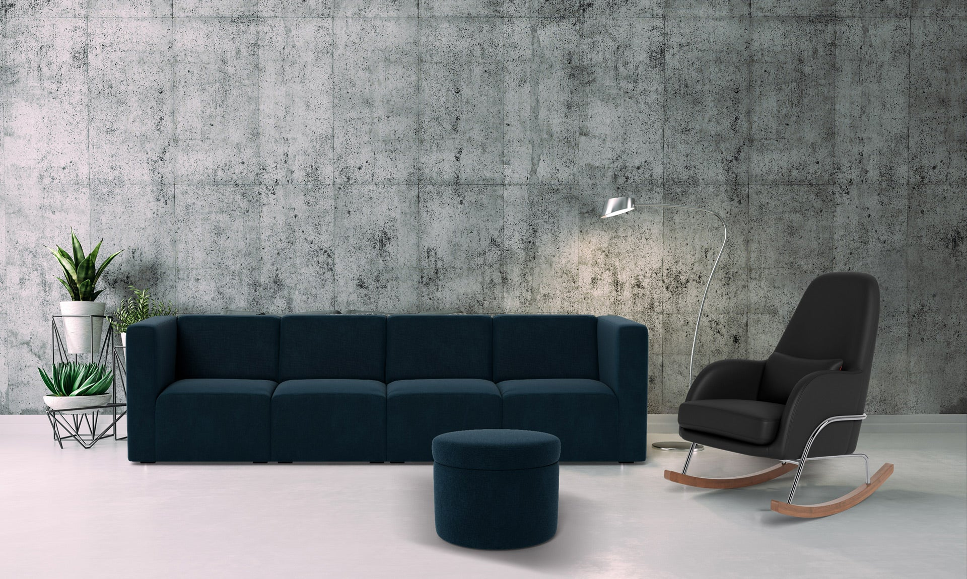 The Bruce 4-seater Sofa Couch