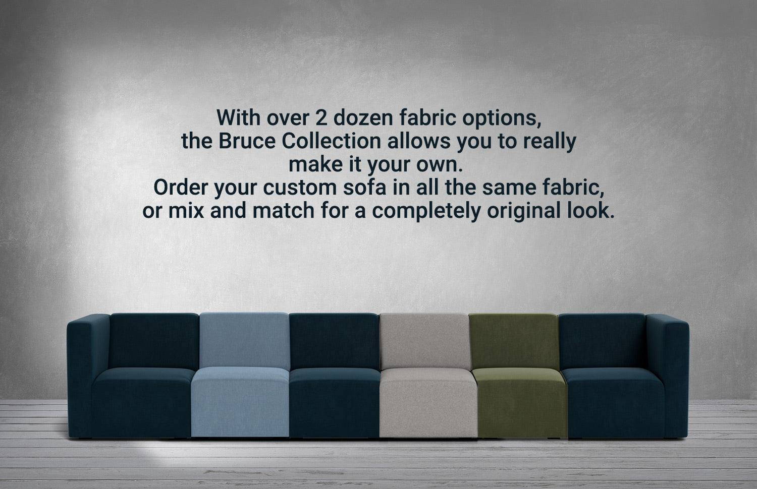Monte Bruce Sectional Fabrics