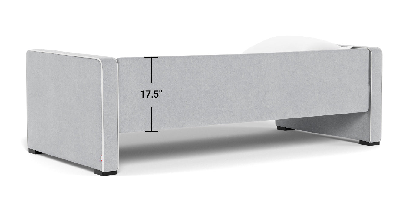 Daybed backrail dimensions