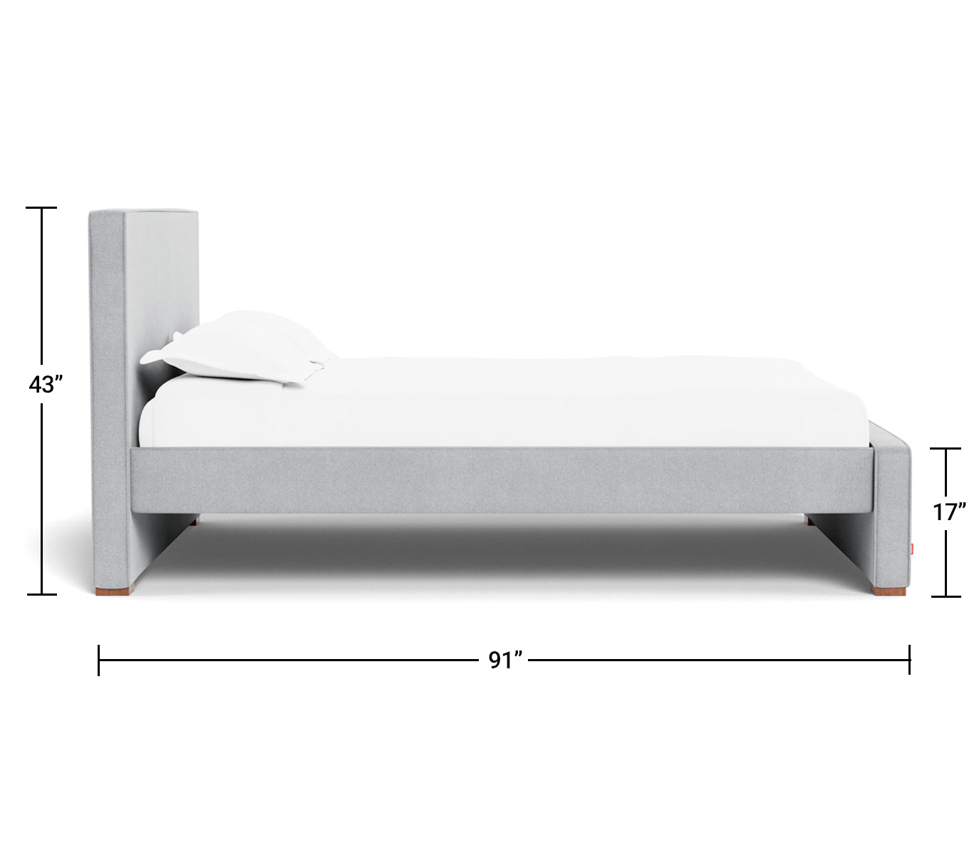 Modern Dorma Queen King Bed With Pull Out Trundle By Monte Design