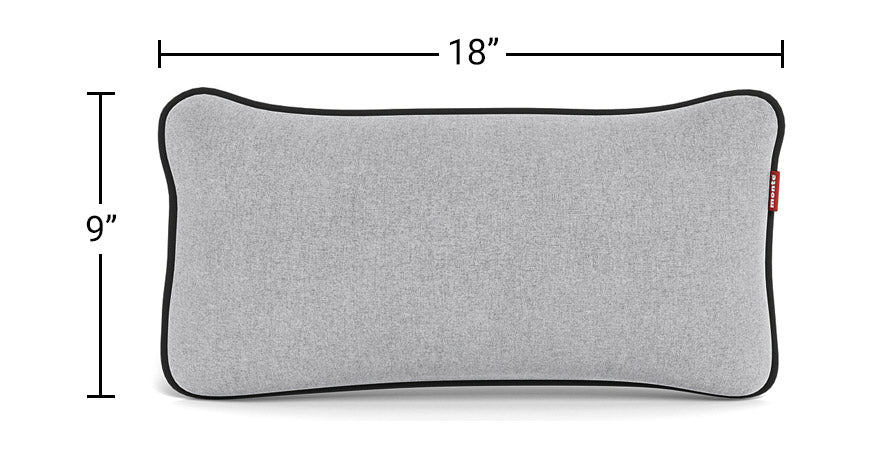 Modern Monte Design Lumbar Pillow - perfect for lumbar and neck support