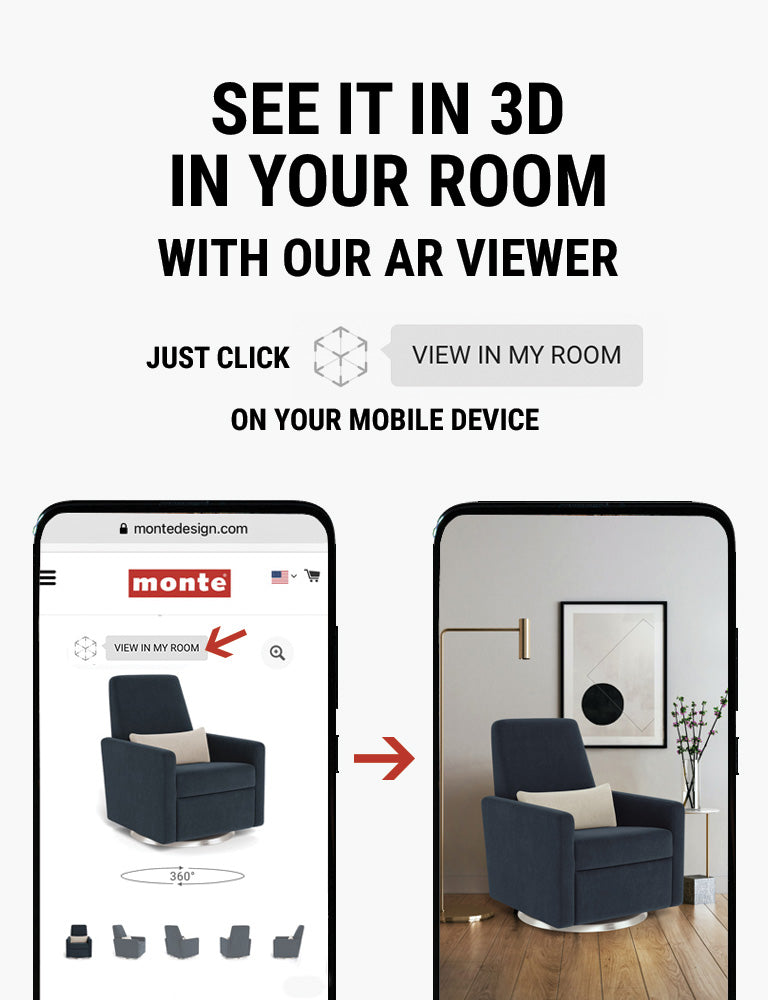 Monte AR - see Monte products in 3D in your room with our AR viewer