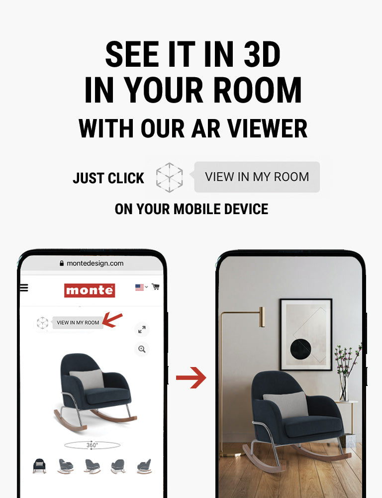 Monte AR - see Monte Jackie Rocker in 3D in your room with our AR viewer