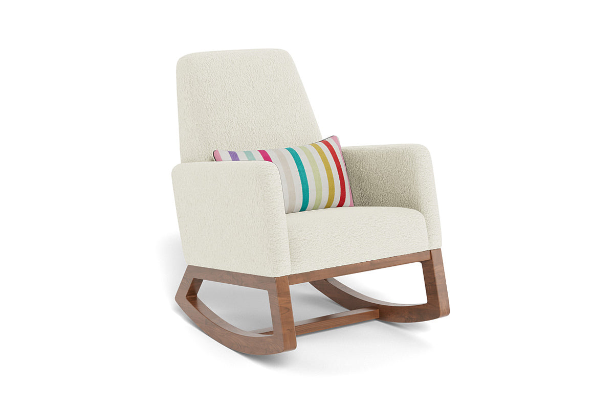 Modern Nursery Rocking Chair with Rockwell Bassient