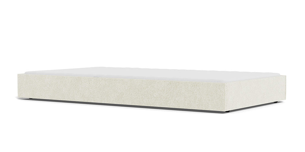 Buy Modern Dorma Trundle for Twin or Full Bed in Faux Sheepkin