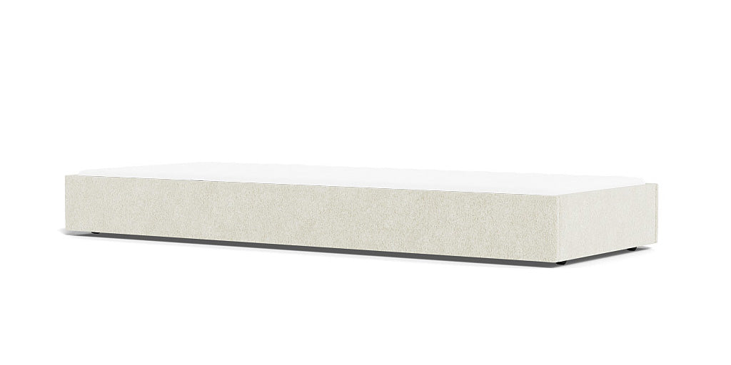 Buy Modern Dorma Trundle for Queen or King Bed in Faux Sheepkin