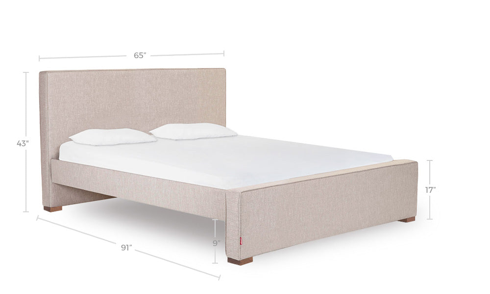 Dorma Queen Bed Dimensions