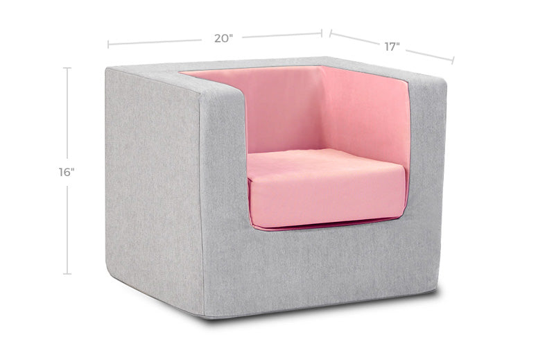 Cubino Foam Kids Chair Dimensions