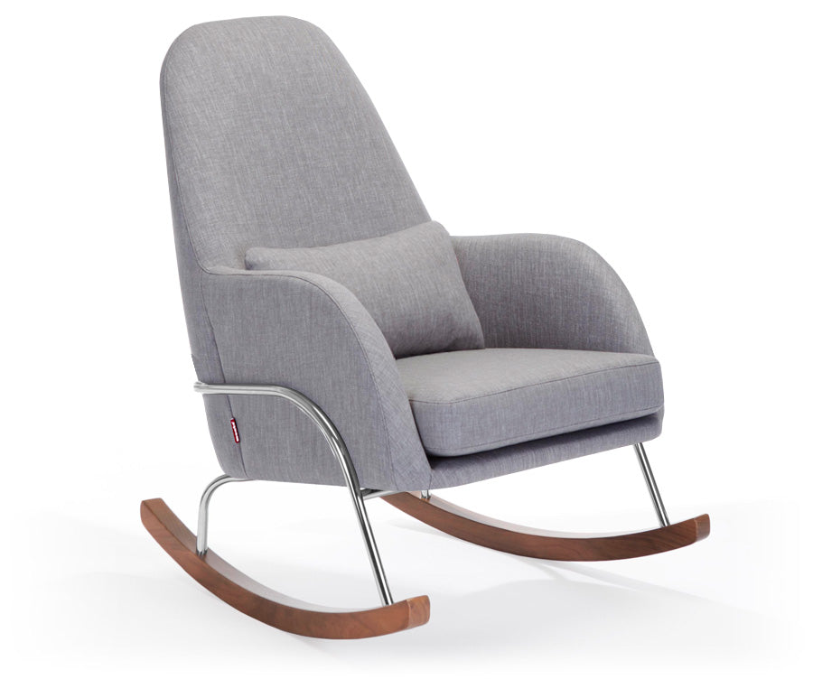 Quick Ship Jackson Rocker - Modern Nursery Rocking Chair