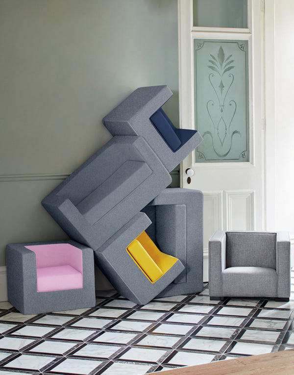 Modern foam kids chair