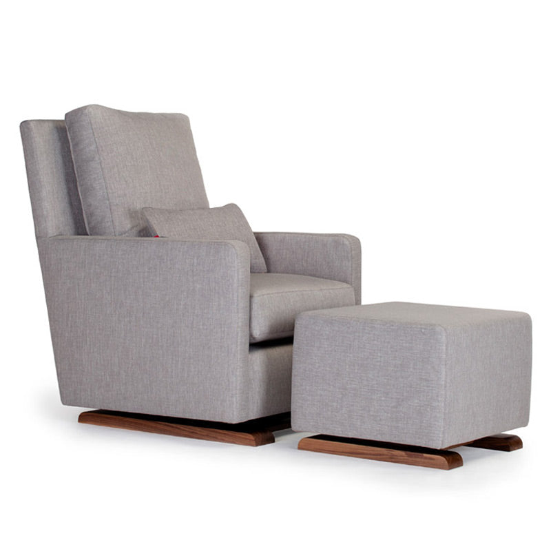 Quick Ship Como Glider with Optional Matching Ottoman