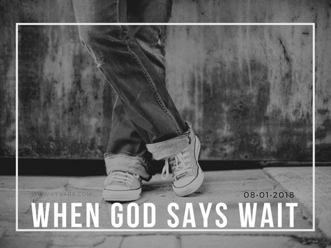 How to know when god says no or wait